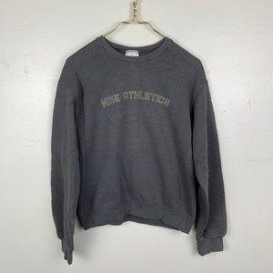 VTG Nike Athletics Grey Sweatshirt